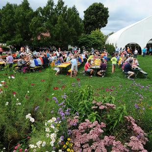 50th Annual Hope-Holland Community Day Picnic at Windmill Island. Photo by Tom Renner on September 5, 2015