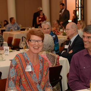 Kruizenga Art Museum Dedication Luncheon. Photo by Jon Lundstrom on September 8, 2015