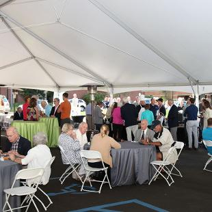 Kruizenga Art Museum Open House. Photo by Steven De Jong on September 11, 2015