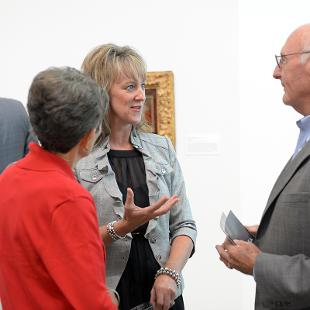 Kruizenga Art Museum Dedication. Photo by Jon Lundstrom on September 8, 2015