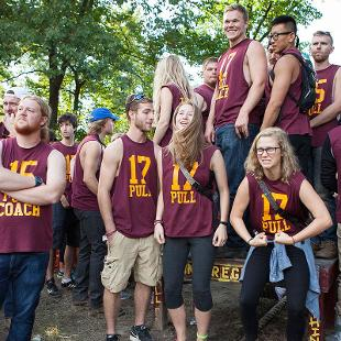 Odd Year -  Class of 2019. Photo by Steven Herppich on September 26, 2015