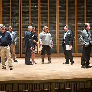 Jack H. Miller Center for Musical Arts Dedication. Photo by Steven Herppich on October 22, 2015