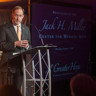 Jack H. Miller Center for Musical Arts Dedication Dinner. Photo by Steven Herppich on October 22, 2015