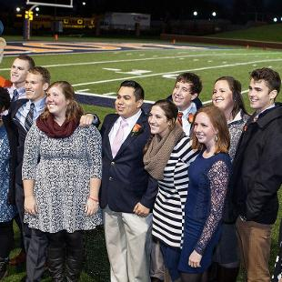 Homecoming Court. Photo by Steven Herppich on October 24, 2015