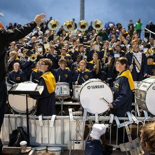 Homecoming Football Game. Photo by Steven Herppich on October 24, 2015