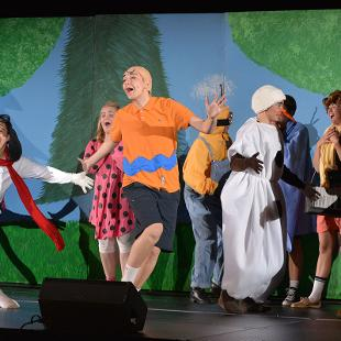 "2018 Play ""It's the Great Pumpkin, Charlie Brown!"" Photo by Jon Lundstrom on October 31, 2015."