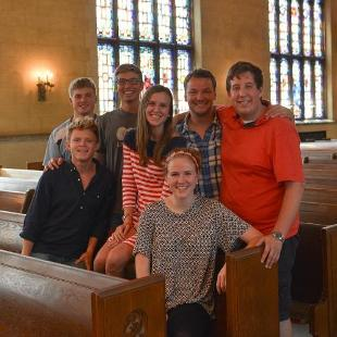 Photo of Worship Team Y in the chapel