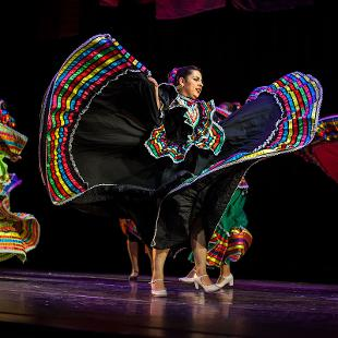 Folklorico at Hope College, est. fall 2014. Photo by Steven Herppich on November 14, 2015