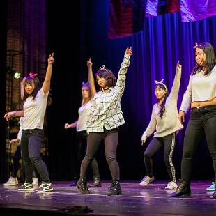 KPOP Dance. Photo by Steven Herppich on November 14, 2015