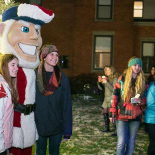 President's Third Annual Christmas Tree Lighting. Photo by Steven Herppich on November 23, 2015