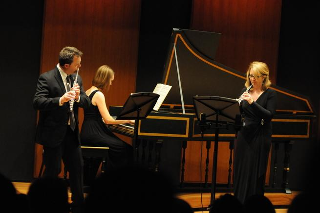 Trio Sospiro performing in Inaugural Recital