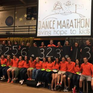 Dance Marathon. Photo by Katie Butterfield on March 12, 2016