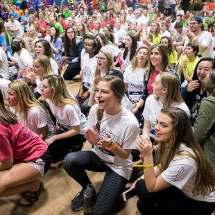 Dance Marathon. Photo by Steven Herppich on March 11, 2016