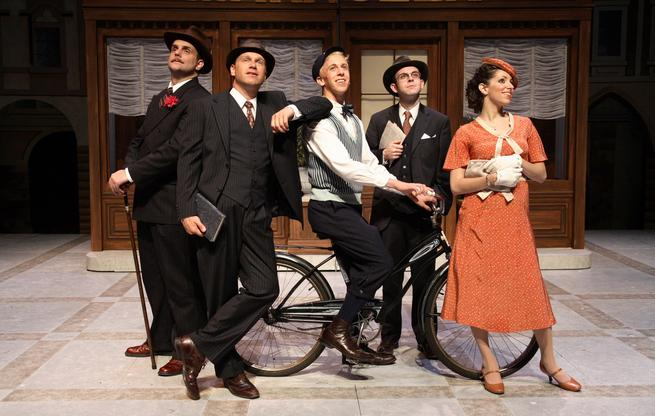 "2007 production of ""She Loves Me"""