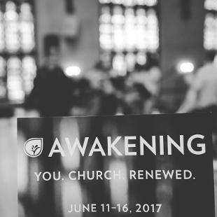 Awakening logo advertising for the next event from June 11-16, 2017
