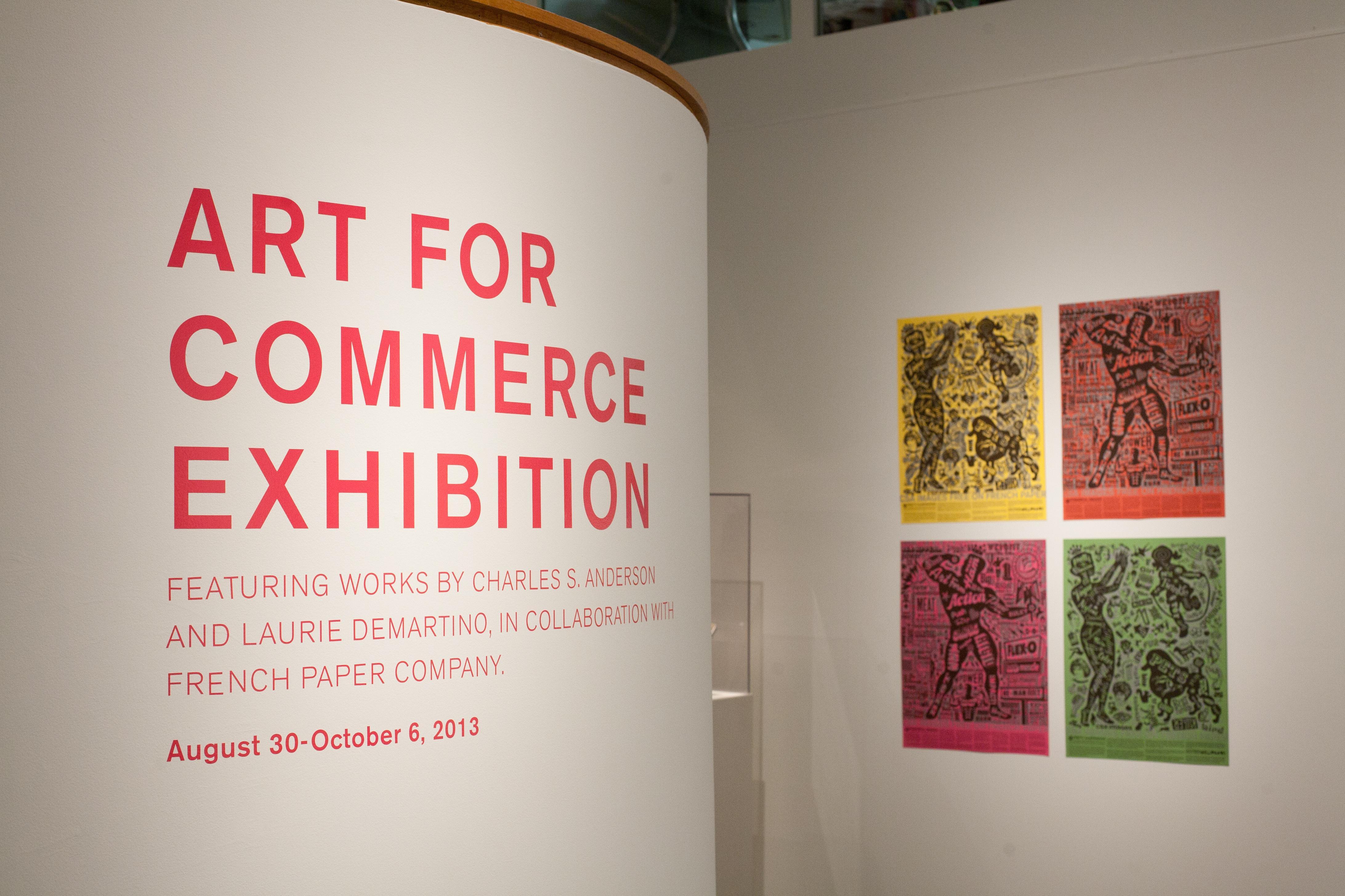 Program for the Art for Commerce Exhibition