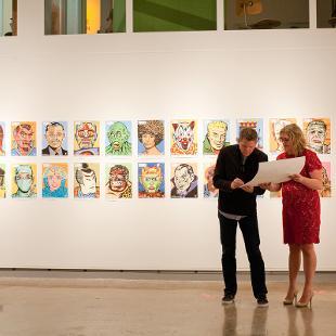 An exhibition at De Pree Art Gallery