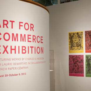 Program for the Art for Commerce Exhibition