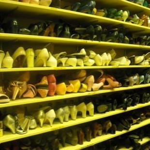 Costumes Shoe Storage