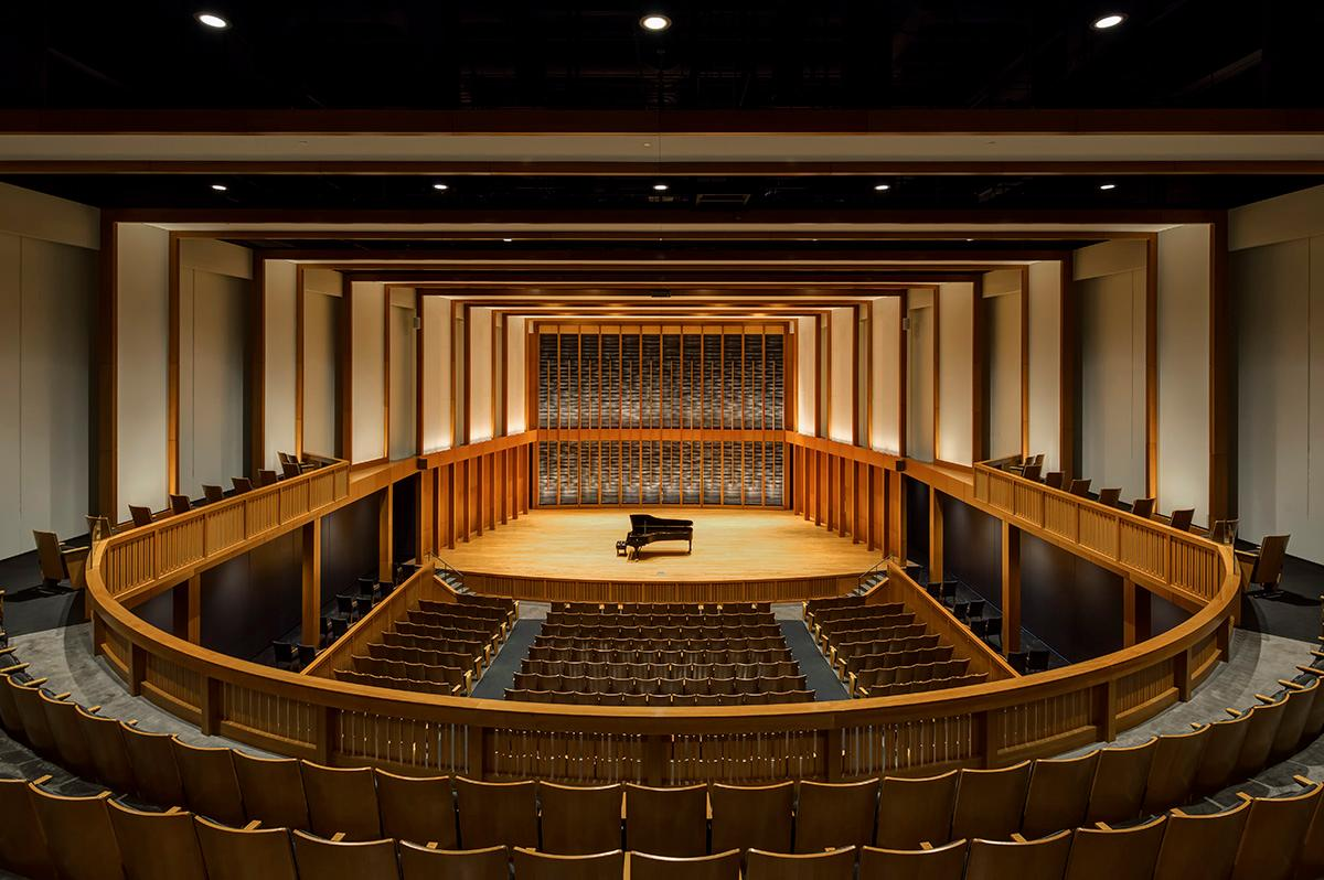 Concert Hall of the Jack H. Miller Center for Musical Arts