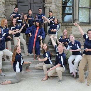 Event Staff at Graduation