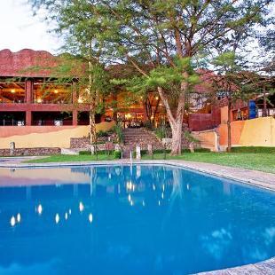 A luxury boutique hotel in Tanzania.