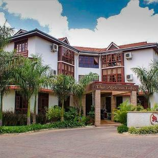 A luxury boutique hotel, The African Tulip, in Arusha, Tanzania.
