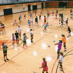 Volleyball Day Camp