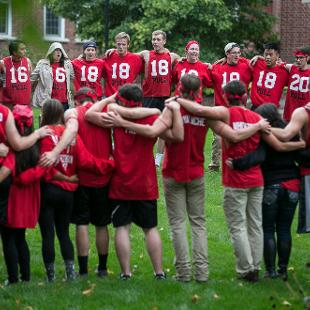 Even Year - Class of 2020. Photo by Steven Herppich on September 30, 2016