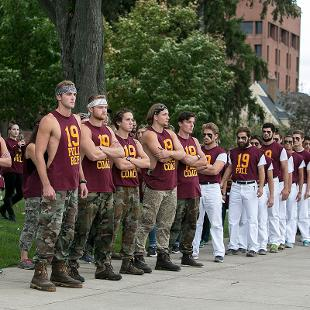 Odd Year - Class of 2019. Photo by Steven Herppich on September 30, 2016