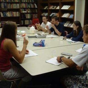 Lilly Scholars Discussing Theology