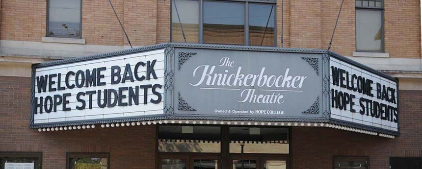 Photo of the Knickerbocker Theatre