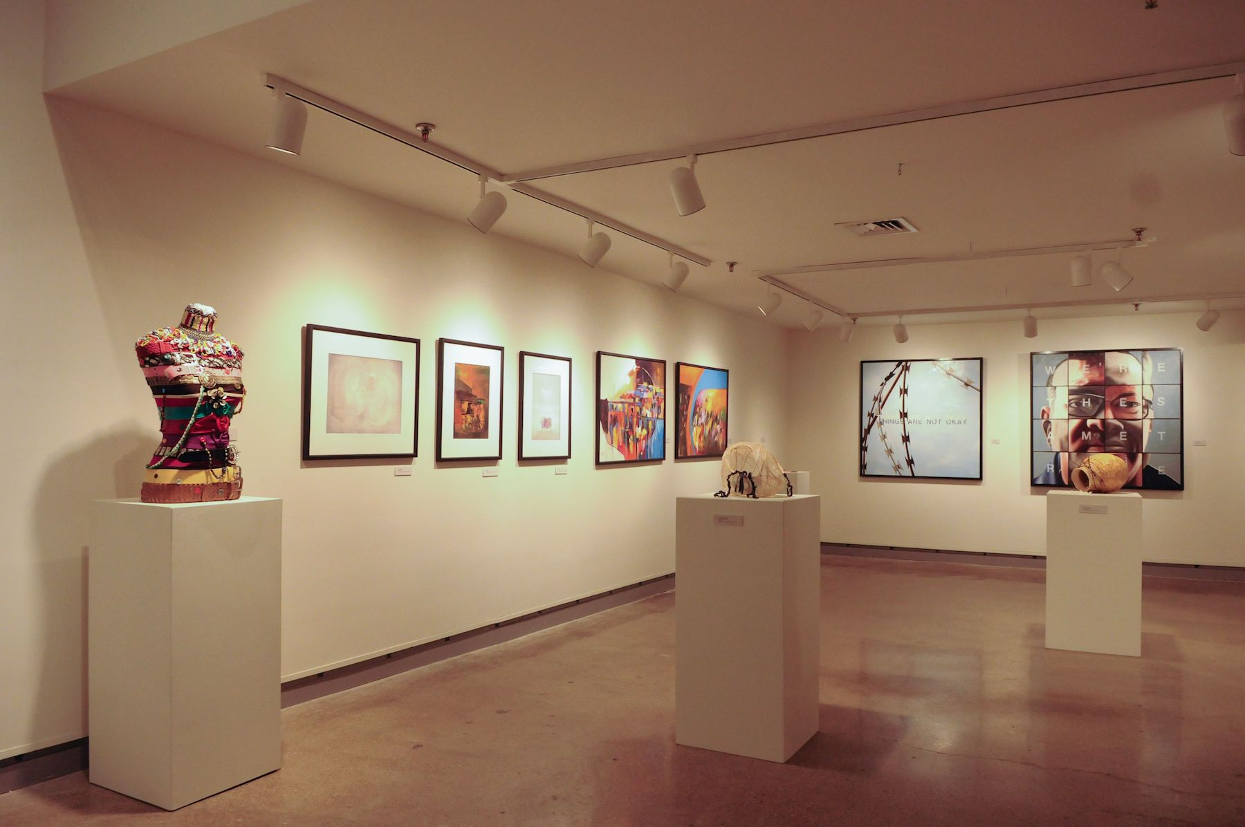 "An image from the exhibition ""Between the Shadow and the Light."""