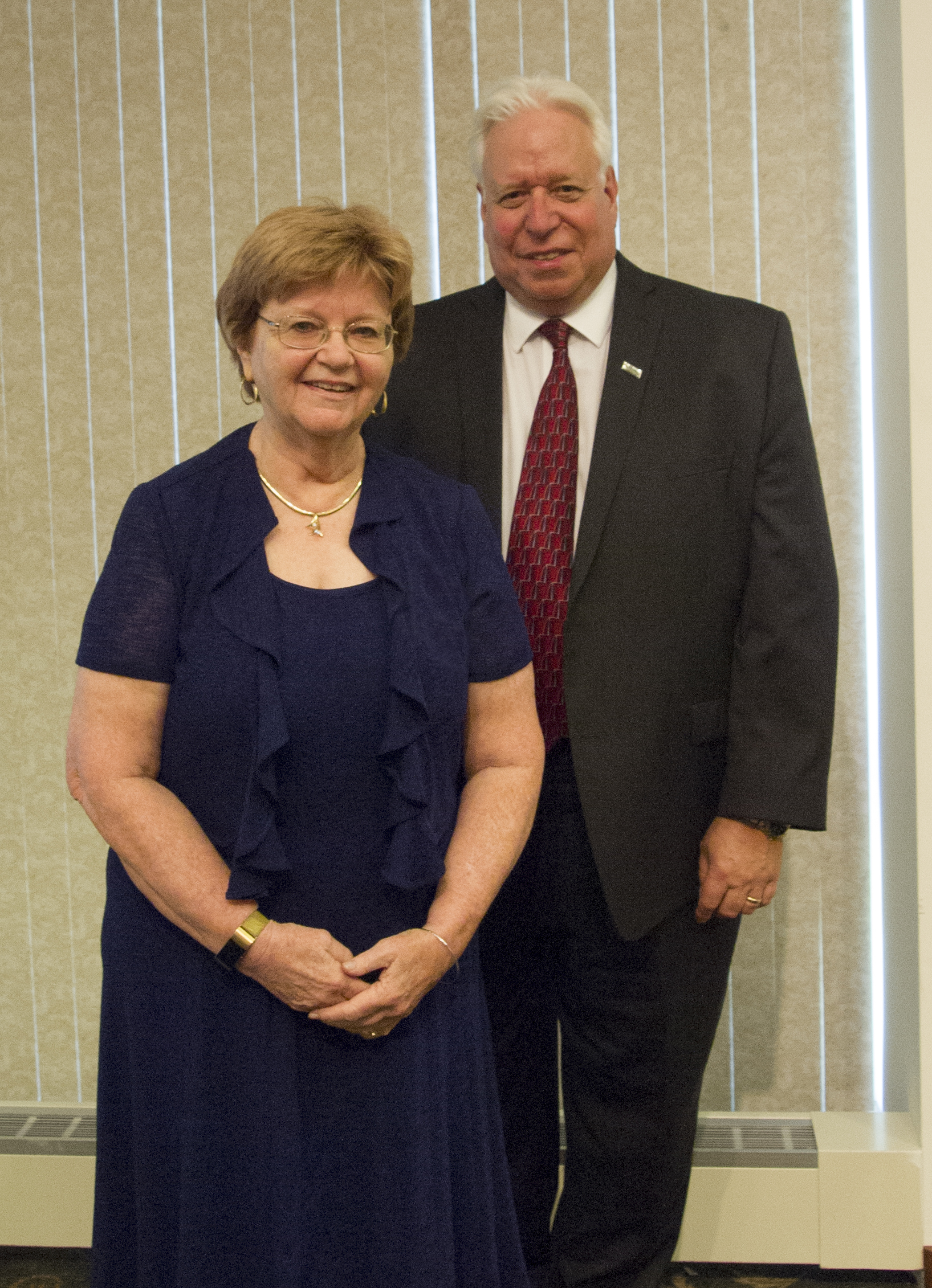 Nancy and G. Clarke Borgeson '72