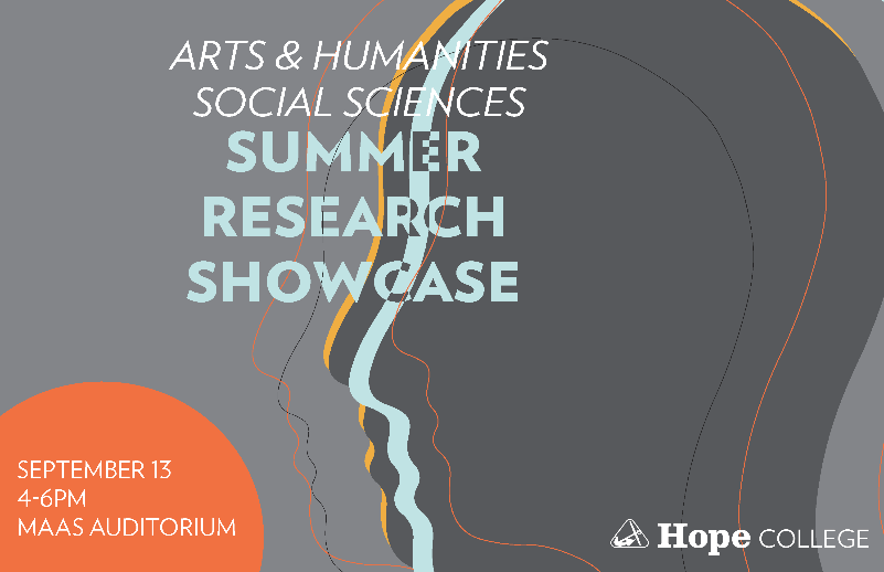 Summer Research Showcase poster