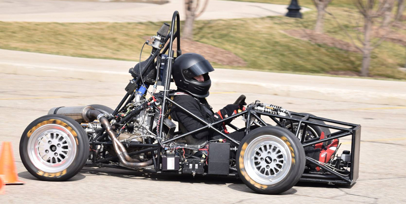 Hope College FSAE car