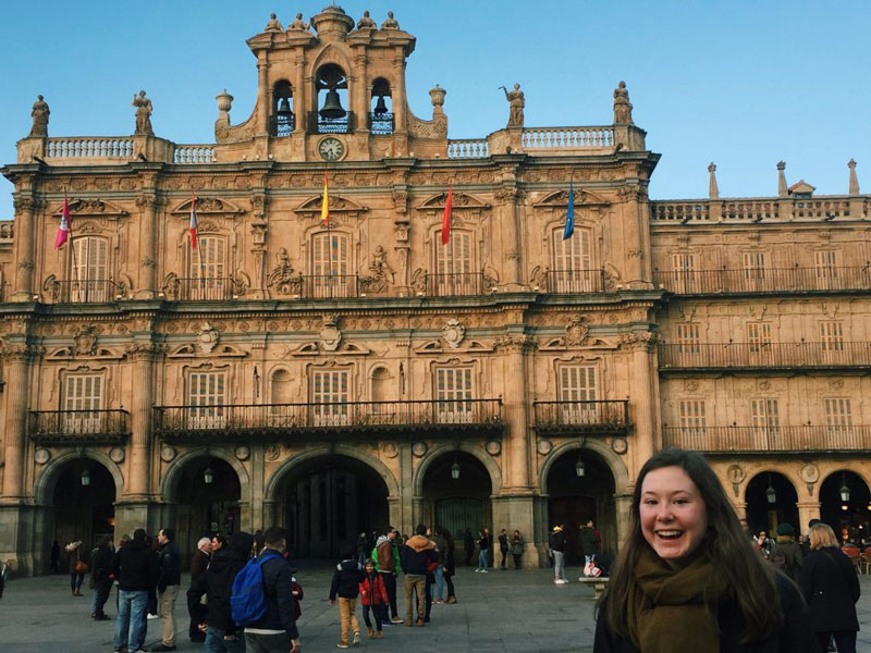 Lizzy Van Harn in Spain