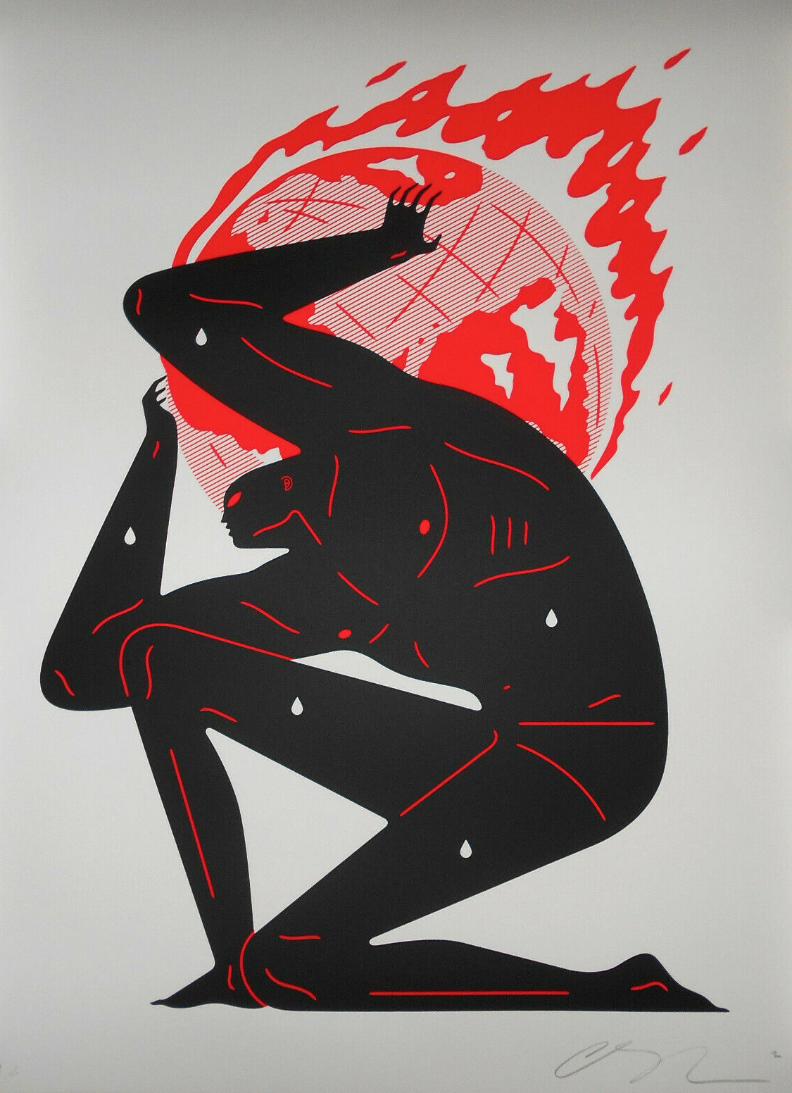"""Earth on Fire"" by Cleon Peterson"