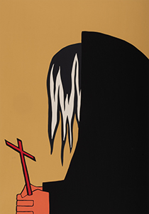 """John Brown Praying"" by Jacob Lawrence"