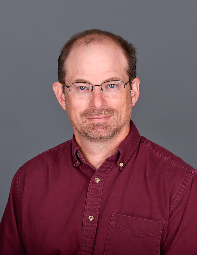 A photo of Dr. Brian Bodenbender