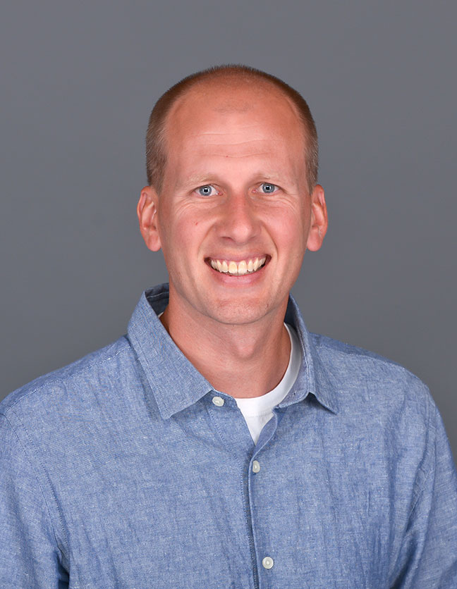 A photo of Dr. Chad Carlson