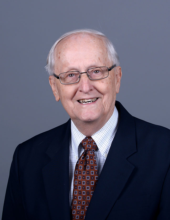 A photo of Dr. Elton Bruins