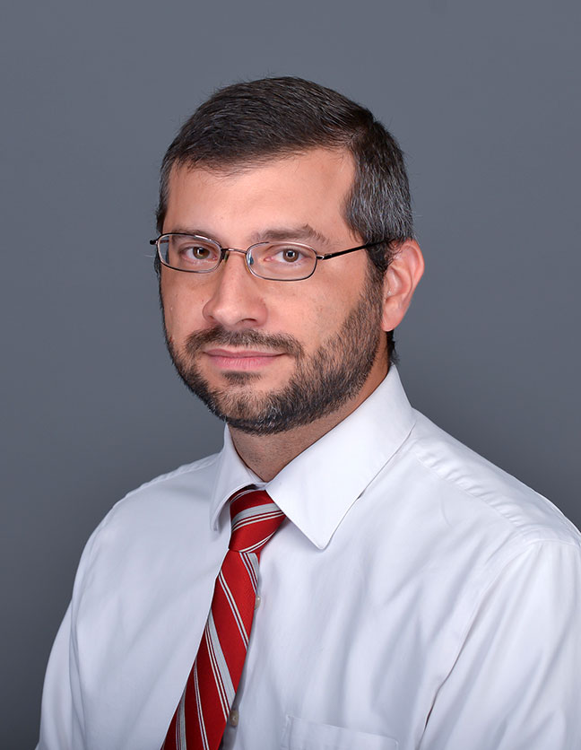 A photo of Dr. Jared Ortiz