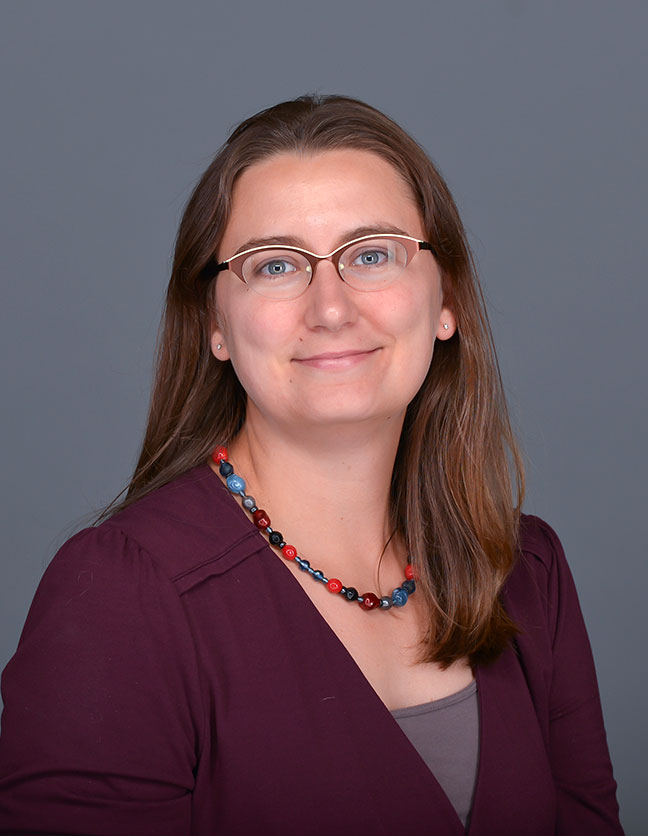 A photo of Dr. Lauren Janes