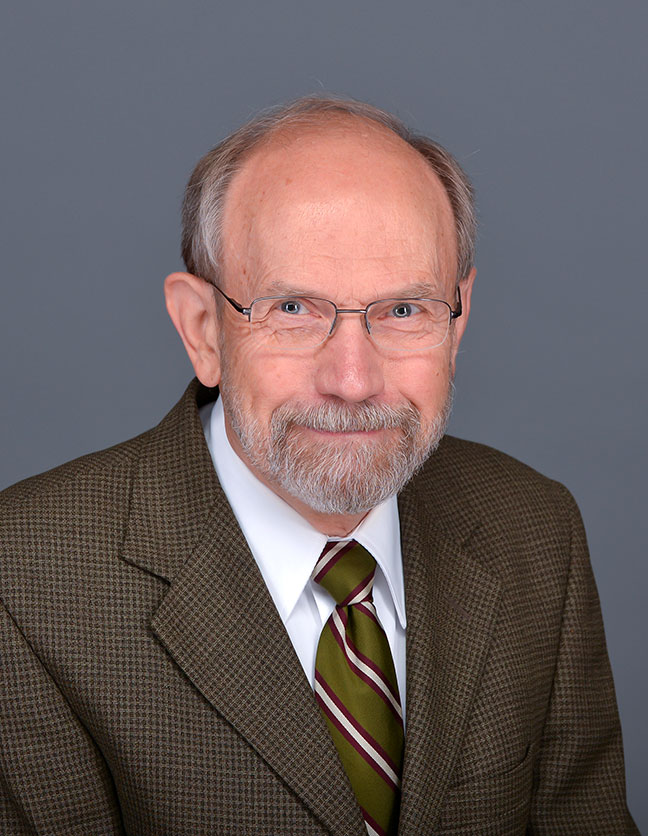 A photo of Dr. Peter Schakel