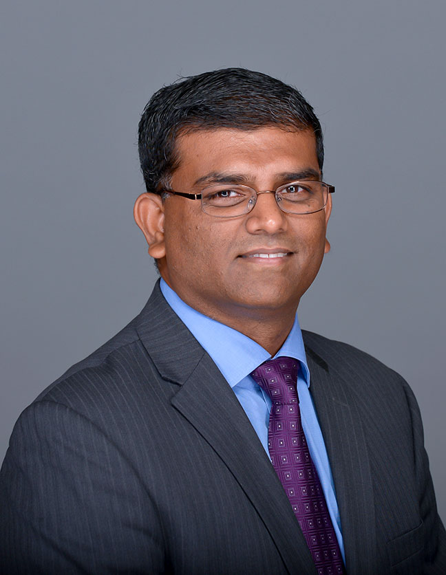 A photo of Dr. Rakesh Peter-Dass