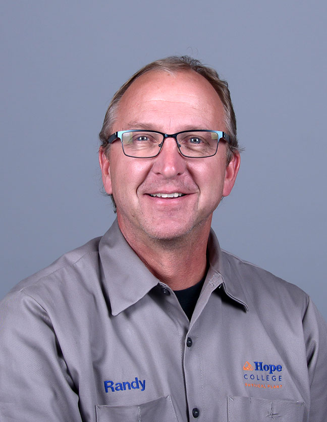 A photo of Randall Kalmink