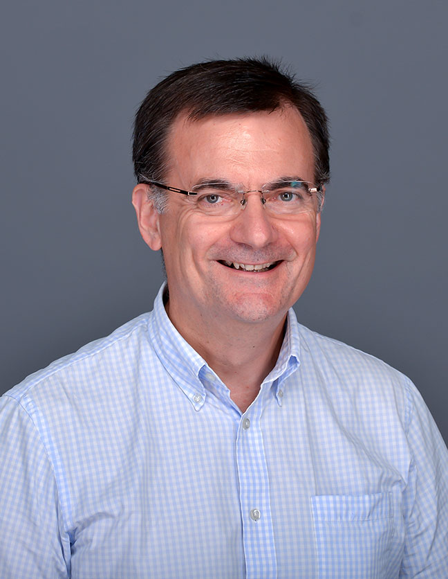 A photo of Dr. Stephen Smith