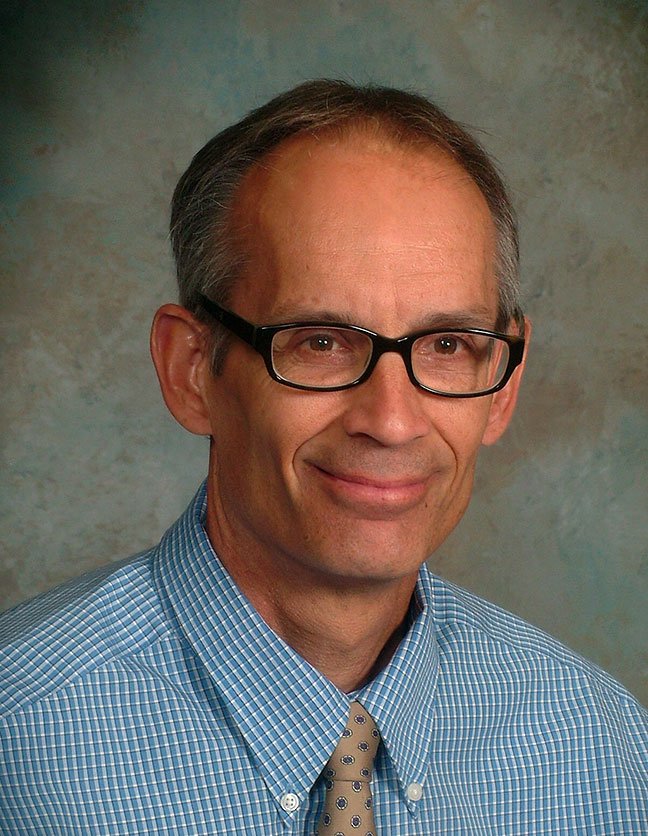 A photo of Dr. Tom Bultman