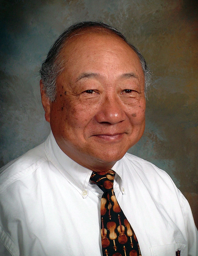 A photo of Dr. Wally Fu